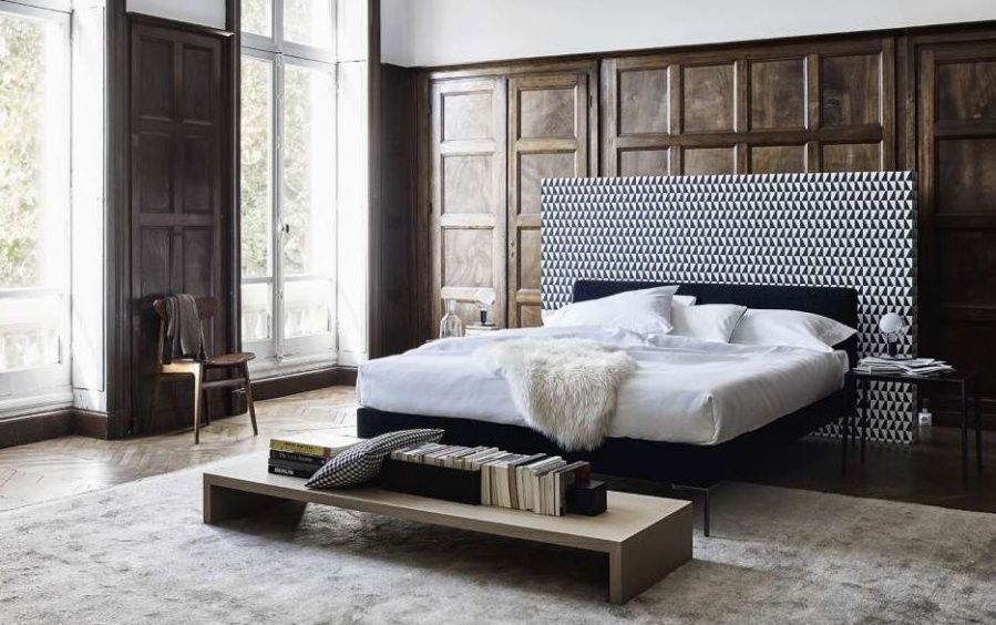 B&B Italia - Charles Bed - Products - Minima