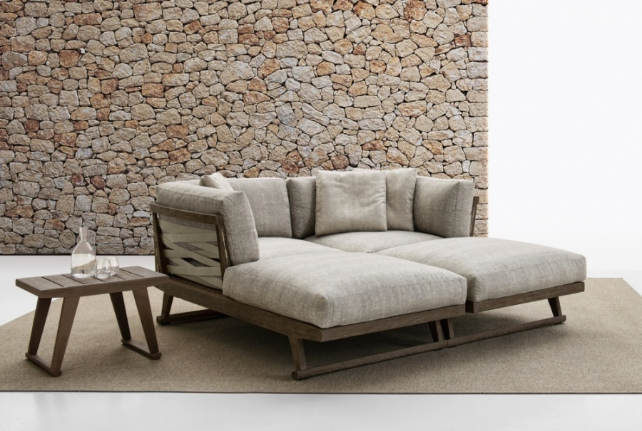Outdoor Sofa From B B Italia Outdoor Gio By Antonio Citterio Products Minima
