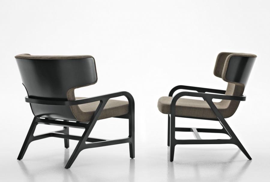 Maxalto Fulgens Lounge Chair Products Minima
