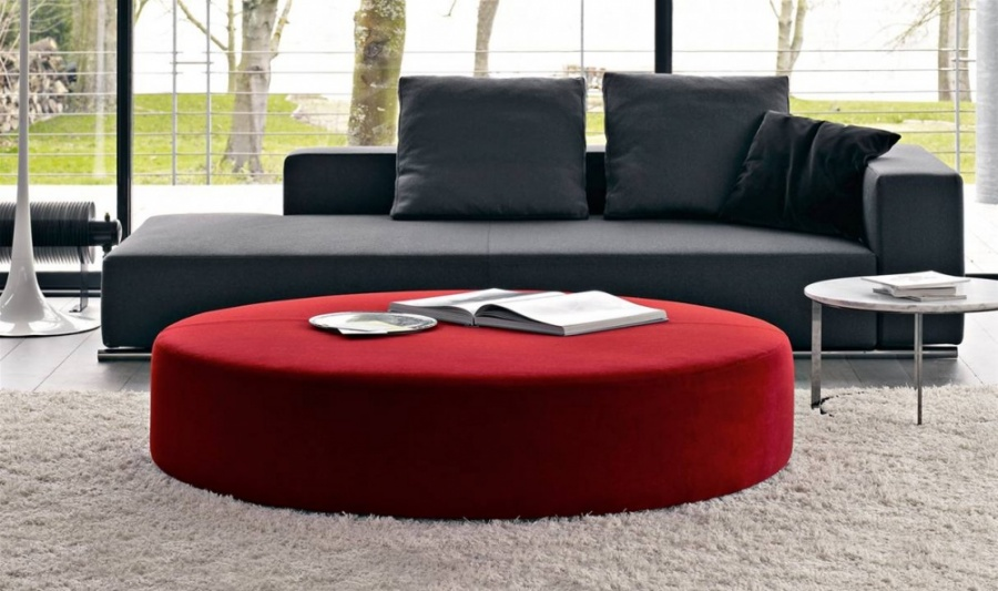 b b italia harry large ottoman products minima. Black Bedroom Furniture Sets. Home Design Ideas