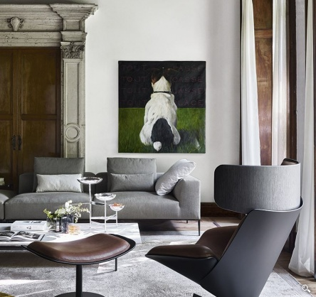 B&B Italia - Michel Effe Sofa - Products - Minima